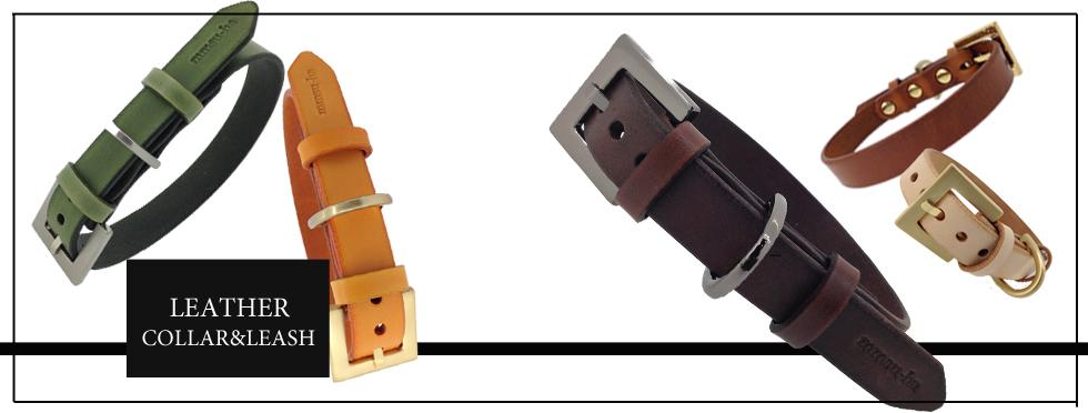 レザー首輪・リードセット 商品紹介ページへ