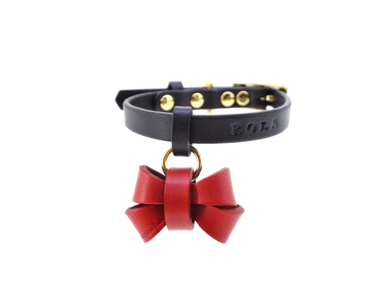 犬のための首輪 furico ribbon collar フリコリボン首輪 オーダーメニュー